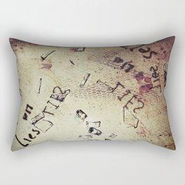 Lies Rectangular Pillow