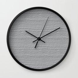 Glacier Gray Wood Grain Texture Color Accent Wall Clock