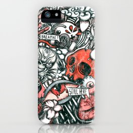 Washed Still Here  iPhone Case