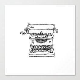 words per minute Canvas Print
