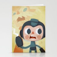 megaman Stationery Cards featuring Megaman by Peerro