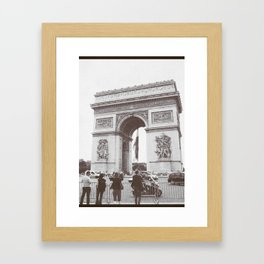 SALE, PARIS Italy Photography, Set of 4 Prints, Travel Decor, Black and White, Colosseum, ART Framed Art Print
