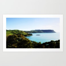 Tasmania's North Coast Art Print