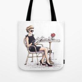 Le Petit Dejeuner Tote Bag