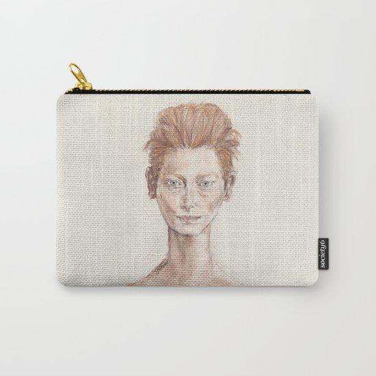 Tilda Swinton Inspiration Carry-All Pouch