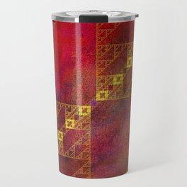 Pattern Decor Travel Mug