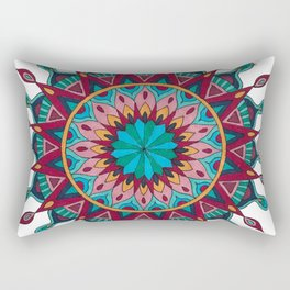 Heart and Soul Mandala Rectangular Pillow