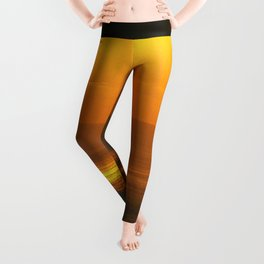 There's Always Sun Behind The Clouds Leggings