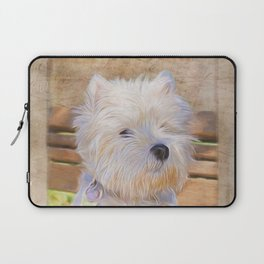 Dog Art - Just One Look Laptop Sleeve