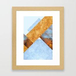 Modern Mountain No5-P3 Framed Art Print