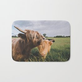 Highland Cows II Bath Mat