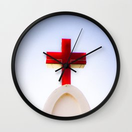 St. Anthony's Church in, Anjuna, Goa, India Wall Clock