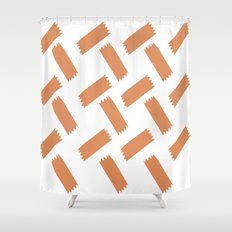 Basket Weave Shower Curtain
