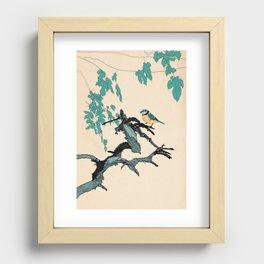 Songbird Recessed Framed Print