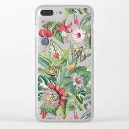 Tropical Paradise VI Clear iPhone Case