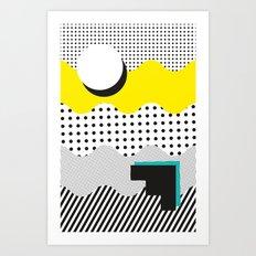 SHAPE SHIFTER Art Print