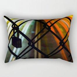 l o c k e d u p Rectangular Pillow