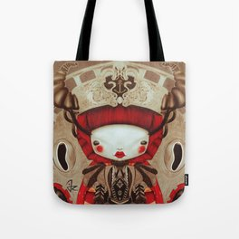 """Kokeshi Doll"" Tote Bag"