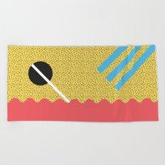 Memphis Style N°8 Beach Towel