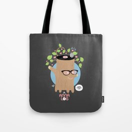 Anna Log Tote Bag