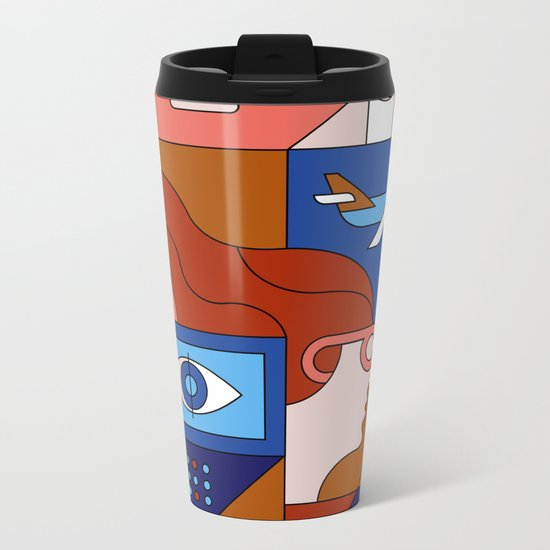 Creative Lab Metal Travel Mug