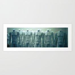 bodies Art Print