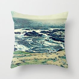 Coast of Australia Throw Pillow