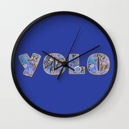 YOLO Wall Clock