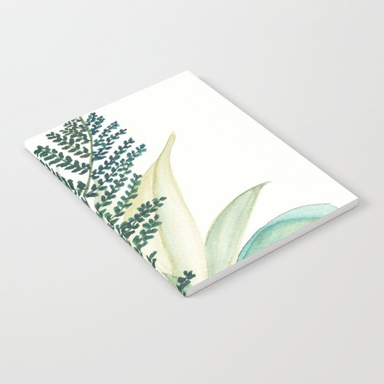 Botanical vibes 02 Notebook