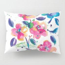 Bright flowers Pillow Sham