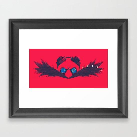 Dr. Robotnik & Sonic Framed Art Print