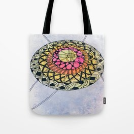 Layers with Patterns Tote Bag