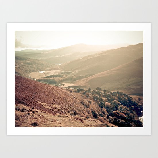 Mountains of Ireland. Art Print