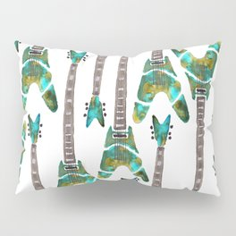 Guitar 1 Pattern - Light Pillow Sham