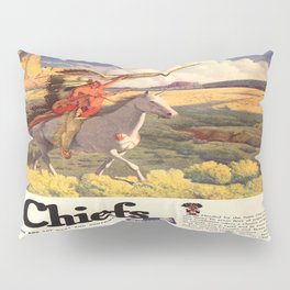 Vintage poster - The Chiefs Pillow Sham