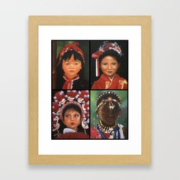 Children Of The World  Framed Art Print