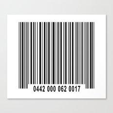 Barcode #1 Canvas Print