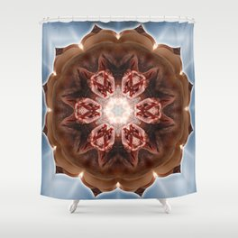 Intimate Sexual Mandala Nude Female Naked Closeup Vulva Abstracted Sensual Sexy Erotic Ar Shower Curtain
