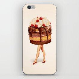 Cake Girl - Chocolate Raspberry iPhone Skin