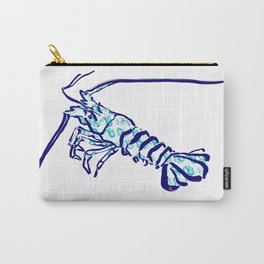 Riding Waves Lobster Carry-All Pouch