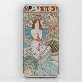 Vintage poster - Monte Carlo iPhone Skin