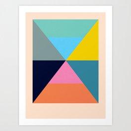Dhurrie Ocean 1 — Matthew Korbel-Bowers Art Print
