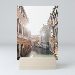 Glistening Venice Canal   Venice Italy travel photography fine art print, Saige Ashton Prints  Mini Art Print