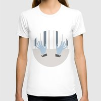 piano T-shirts featuring piano by liva cabule