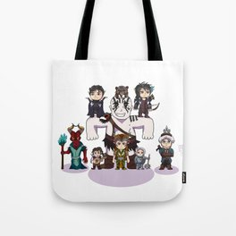 Little Vox Machina Tote Bag