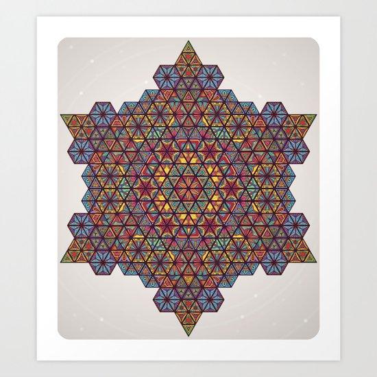 Blunt Physics. Art Print