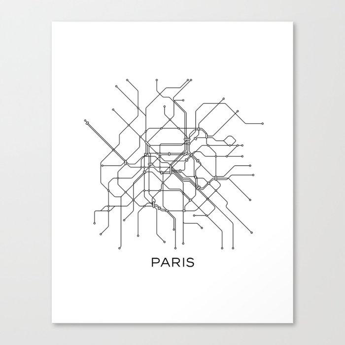 Subway Map Design.Paris Metro Map Subway Map Paris Metro Graphic Design Black And