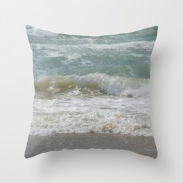 Loving the Waves number 5 Throw Pillow
