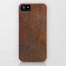 Rust iPhone Case