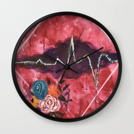 Cardiac Arrangement Wall Clock